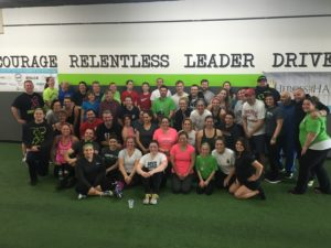 Heroes LIke Haley Best Gym in Cary IL- Large Group