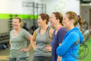 #1 Personal Trainer in Cary and Crystal Lake- Members Smiling.